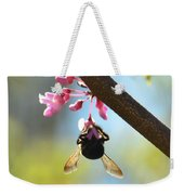Redbud And The Bumble Weekender Tote Bag