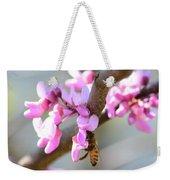 Redbud Pollinator Weekender Tote Bag