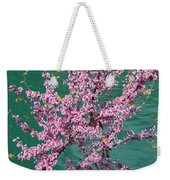 Redbuds Over San Antonio River Weekender Tote Bag