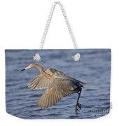 Reddish Egret Dance Fishing Weekender Tote Bag