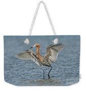 Reddish Egret Fishing Weekender Tote Bag
