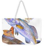 Redfish Trout Weekender Tote Bag