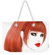 Redhead Cassia Weekender Tote Bag by Renate Janssen