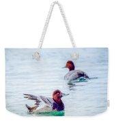 Redhead Ducks Weekender Tote Bag