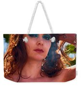 Redhead With A Star Tattoo  Weekender Tote Bag