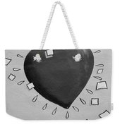 Redheart In Black And White2 Weekender Tote Bag