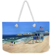 Redondo Beach Lifeguard  Weekender Tote Bag