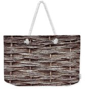Reed Fence Weekender Tote Bag by Tom Gowanlock