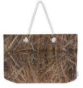 Reed Water Reflection Weekender Tote Bag