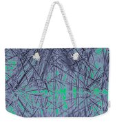 Reed Water Reflection Light Fantasy Weekender Tote Bag