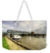Reedham Swing Bridge  Weekender Tote Bag