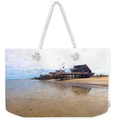 Reeds Beach Panorama - New Jersey Weekender Tote Bag