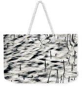 Reeds In Ripples Weekender Tote Bag