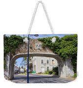 Referendum Gate In Gibraltar Weekender Tote Bag
