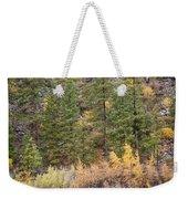 Reflect Autumn Weekender Tote Bag