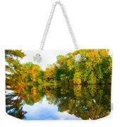 Reflected Autumn Glory Weekender Tote Bag