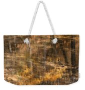 Reflected Gold Weekender Tote Bag