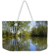 Reflected Star Weekender Tote Bag