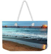 Reflected Sunlight At Pier's End Weekender Tote Bag