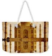 Reflected Taj Mahal Weekender Tote Bag