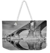 Reflecting Fernbridge Weekender Tote Bag
