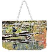 Reflecting In Autumn Weekender Tote Bag