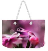 Reflecting On Pink Weekender Tote Bag