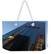 Reflecting On Skyscrapers - Downtown Atmosphere Weekender Tote Bag
