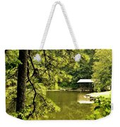 Reflecting On The Beauty Of The Woodlands Weekender Tote Bag