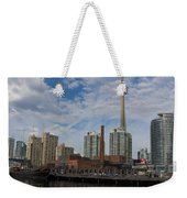 Reflecting On Toronto And Harbourfront  Weekender Tote Bag