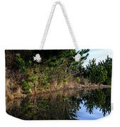 Reflecting Puddle At The Beach Weekender Tote Bag