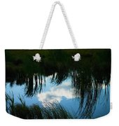Reflecting The Grass Weekender Tote Bag