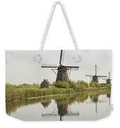 Reflecting Windmills Weekender Tote Bag