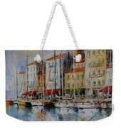 Reflection  -  St.tropez - France Weekender Tote Bag