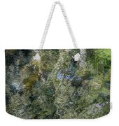Reflection Art Weekender Tote Bag by Roxy Hurtubise
