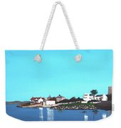 Reflections At Sandycove Weekender Tote Bag