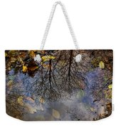 Reflection In A Puddle Weekender Tote Bag