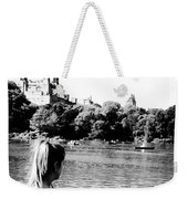 Reflection In Black And White Weekender Tote Bag