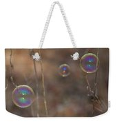 Reflection In Bubbles Weekender Tote Bag