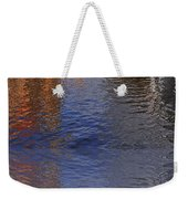 Reflection In Canal Weekender Tote Bag