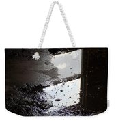 Reflection In Dirty Water Weekender Tote Bag