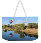 Reflection In Prosser Weekender Tote Bag