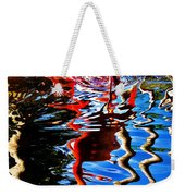 Reflection Of A Flamingo 1 Weekender Tote Bag
