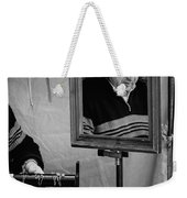 Reflection Of A Man Weekender Tote Bag