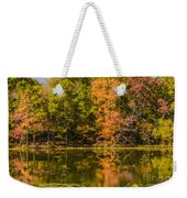 Reflection Of Autumn Weekender Tote Bag
