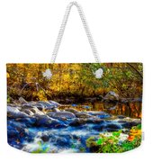 Reflection Of Autumns Natural Beauty Weekender Tote Bag