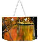 Reflection  Of My Thoughts  Autumn  Reflections Weekender Tote Bag