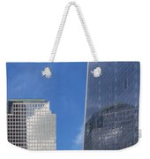 Reflection Of One In Another Weekender Tote Bag