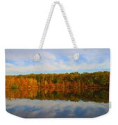 Reflection Of The Fall Weekender Tote Bag