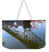 Reflection Of The Gay Street Bridge Weekender Tote Bag
